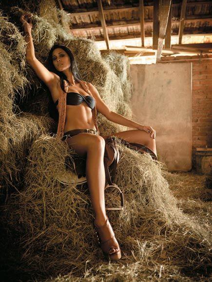 Jaqueline Carvalho in a bikini