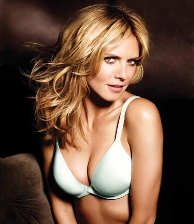Heidi Klum in lingerie