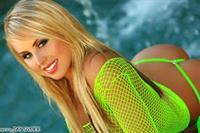 Corinne Doherty in a bikini