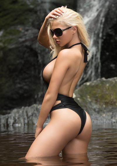 Lauren Luongo in a bikini - ass