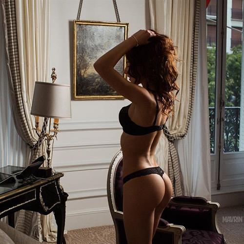 Galina Dubenenko in lingerie - ass
