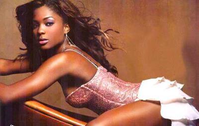 Lanisha Cole in lingerie