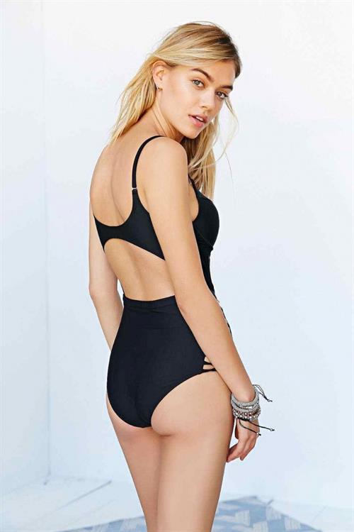 Joanna Halpin in a bikini - ass