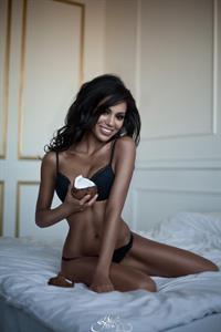 Nargis Amelina in lingerie