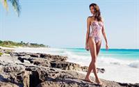 Chantal Kammermann in a bikini