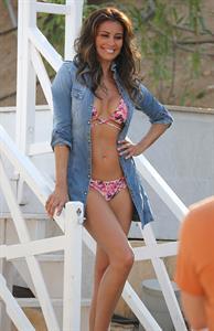 Melanie Sykes in a bikini