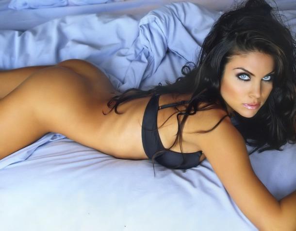 Nadia Bjorlin in lingerie - ass