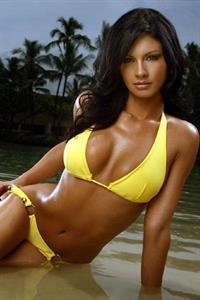 Jessica Diaz in a bikini