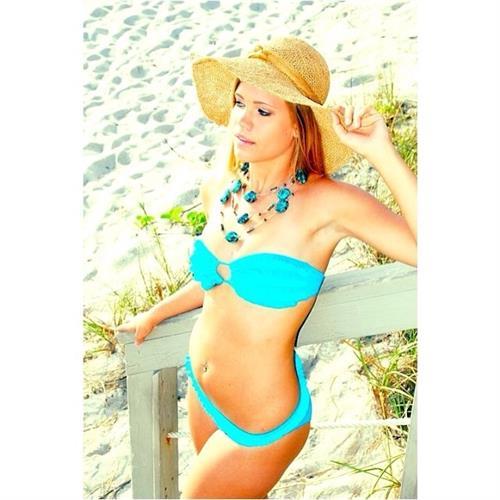 Kayla Garvey in a bikini