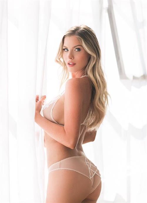 Carly Lauren in lingerie - ass