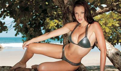 Flory Diez in a bikini