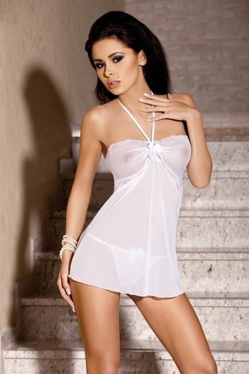 Patrycja Farbis in lingerie