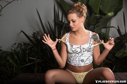 Playboy Cybergirl - Flor Bermudez Nude Photos & Videos at Playboy Plus!