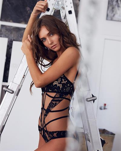 Rachel Cook in lingerie