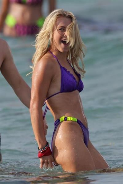 Julianne Hough in a bikini