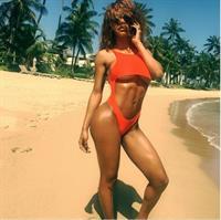 Teyana Taylor in a bikini