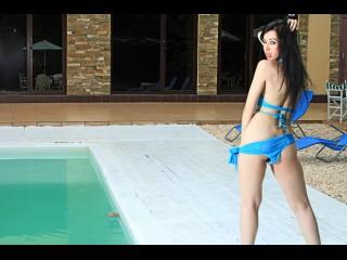 AmyDevine in a bikini