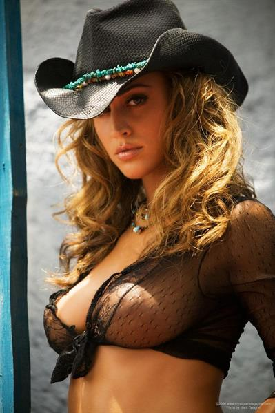Rebecca DiPietro in lingerie