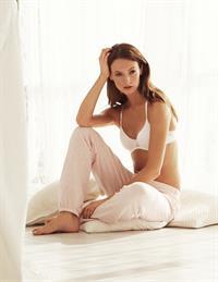 Mona Johannesson in lingerie