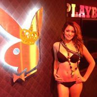 Ali Rose in a bikini