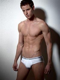 Brandon Stoughton in lingerie