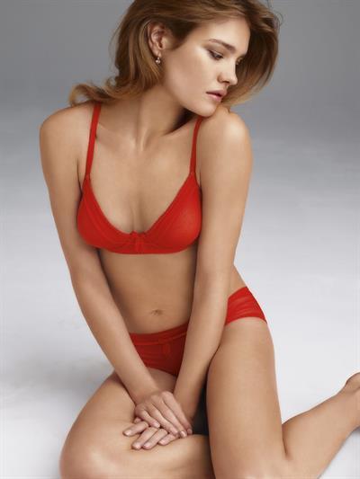 Natalia Cooper in lingerie