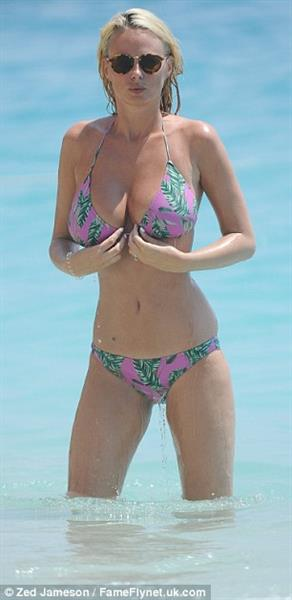 Rhian Sugden and Oliver Mellor on a vacation in Turkey