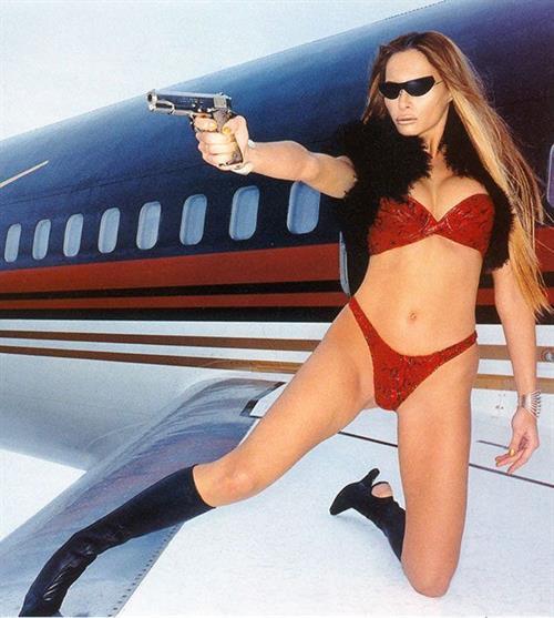 Melania Trump in lingerie