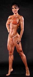 Michelle Lewin in a bikini