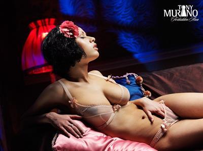 Pammie Lee in lingerie