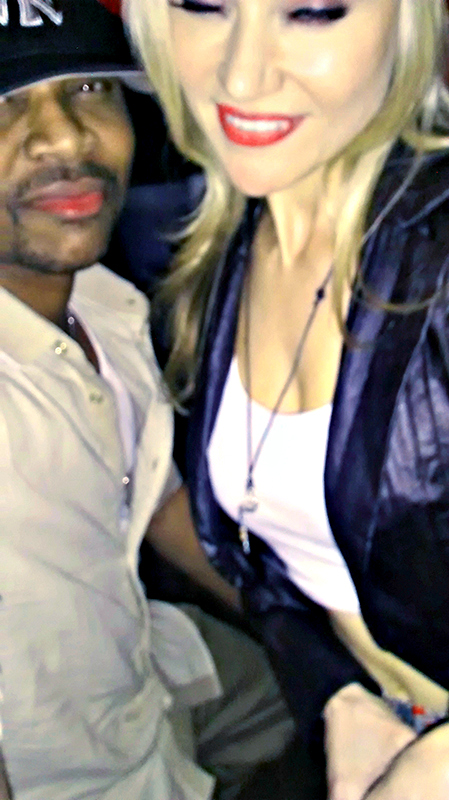 Maverick Hill & Paula Labaredas taking over the Dance Floor at Black Nightclub in Hollywood, California.
