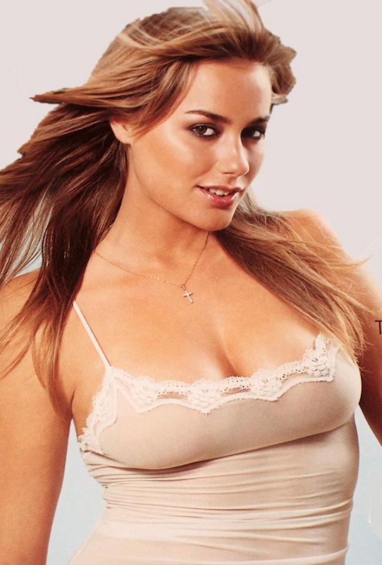 Anine Bing in lingerie