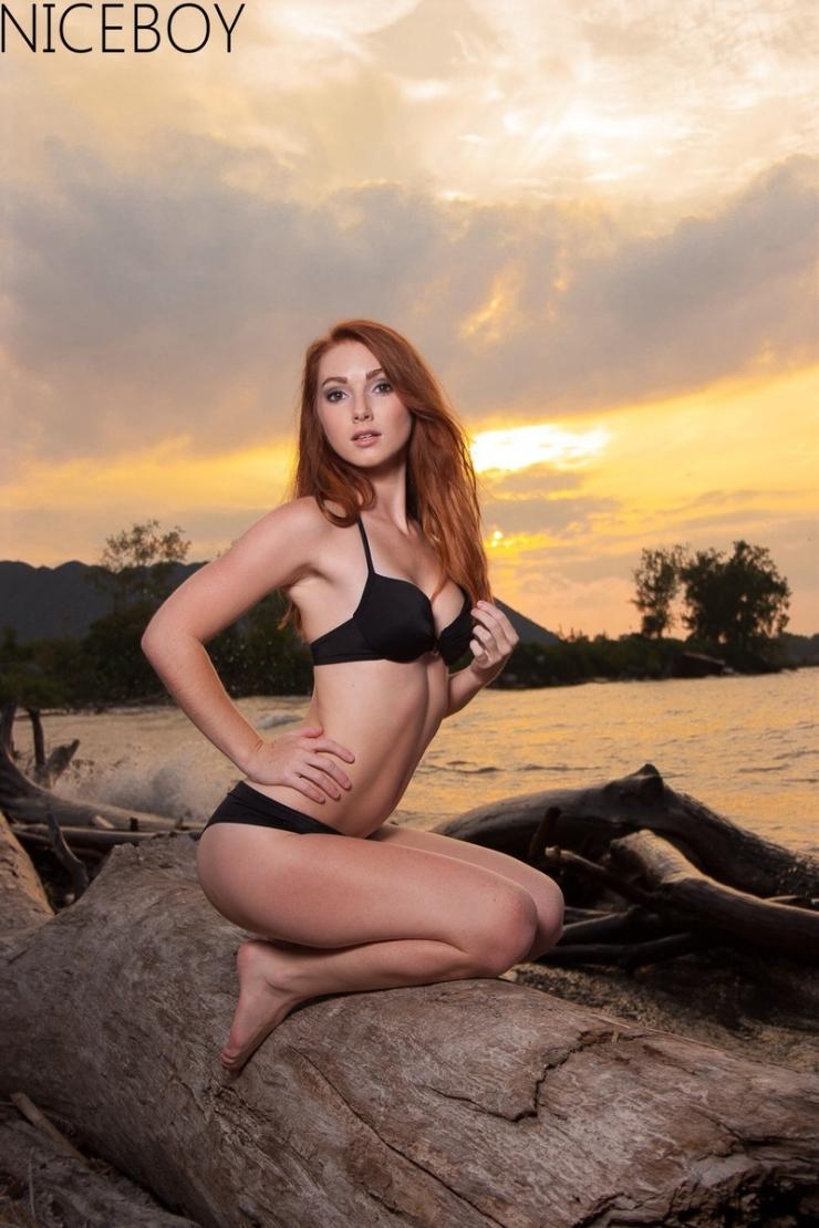 Tori Lynn Gaines in a bikini