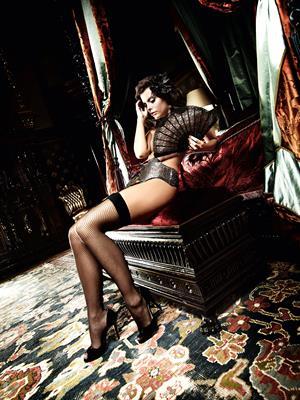 Lauren Ridealgh in lingerie