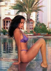 Stacey Williams in a bikini