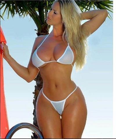 Shantal Monique in a bikini
