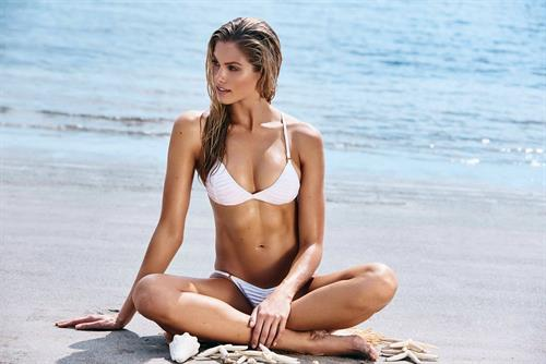 Natalie Jayne Roser in a bikini