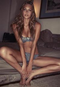 Holly Haerr in lingerie