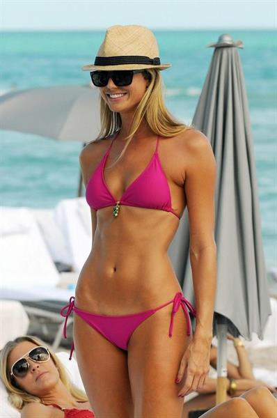 Stacy Keibler in a bikini
