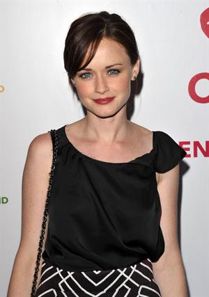 Alexis Bledel at a benefit for the Childrens Defense Fund April 21, 2011