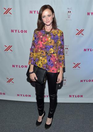 Nylon Magazine September TV Issue Launch party in Beverly Hills Sept 15, 2012