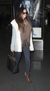 Selena Gomez At JFK airport in New York 18th January 2013