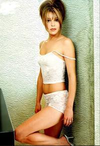 Jane Leeves in lingerie