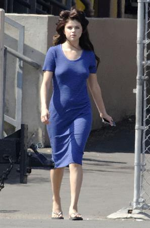 Selena Gomez - on the set of 'Parental Guidance Suggested' in Los Angeles August 04, 2012