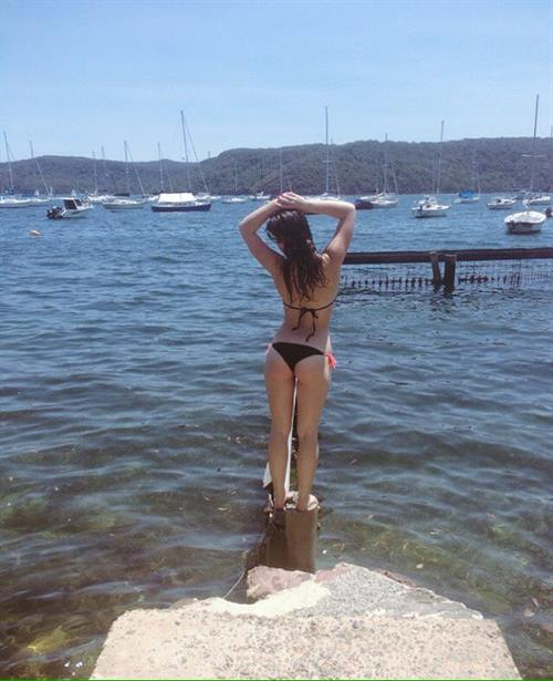 Alexis Young in a bikini - ass