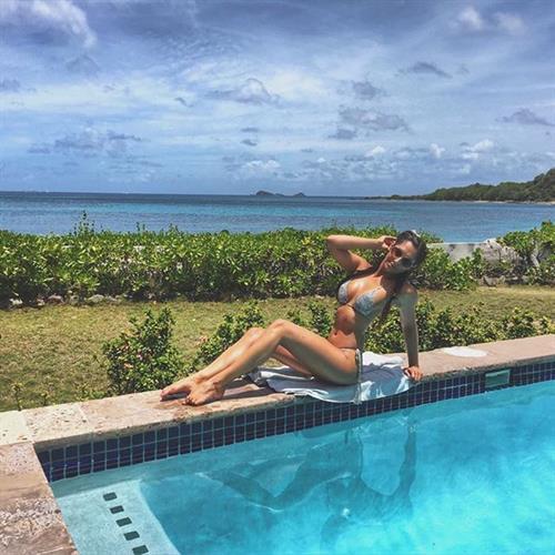 Jessica Rose Jones in a bikini