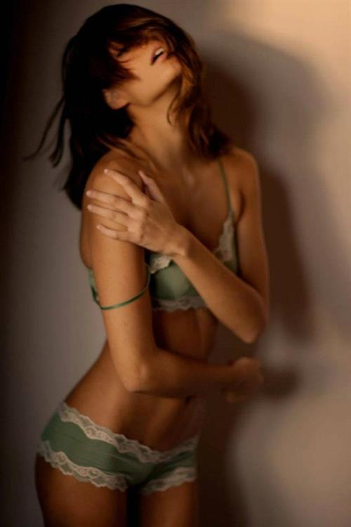 Vanessa Hanson in lingerie