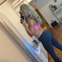 Alexandra Bring taking a selfie and - ass