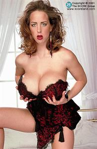Letha Weapons in lingerie