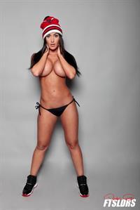 Claudia Sampedro in a bikini